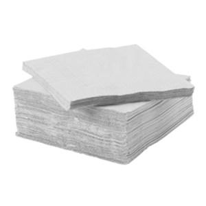 Serviette ouate de cellulose blanche
