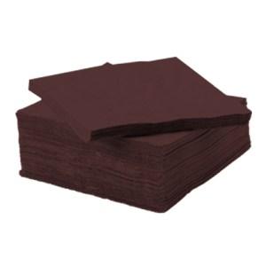 Serviette ouate de cellulose chocolat