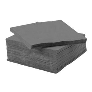 Serviette ouate de cellulose grise