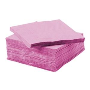 Serviette ouate de cellulose rose