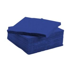 Serviette tendance apéritive bleu vif