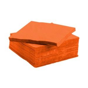 Serviette tendance apéritive mandarine