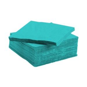 Serviette tendance apéritive turquoise