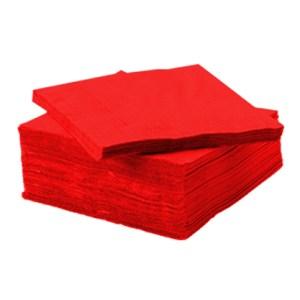 Serviette Voie sèche rouge