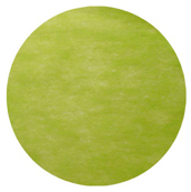 Set table rond intissé vert