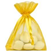 Sachet organdi x 10 pièces – jaune