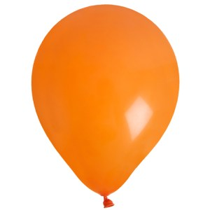 Ballon uni orange
