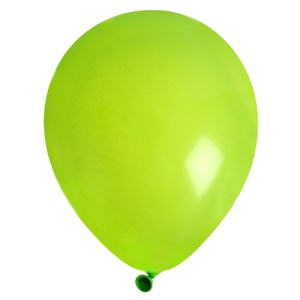 Ballon uni vert