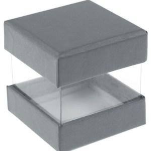 Boite cube grise