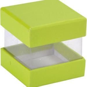 Boite cube verte