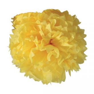 Boule crépon jaune