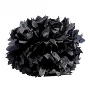 Boule crépon noire