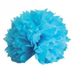 Boule crépon turquoise