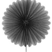 Éventail en papier – gris
