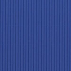 Carton ondulé - bleu foncé