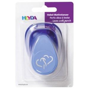 Perforatrice bleue cœur double