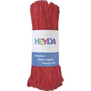 Raphia végétal - rouge