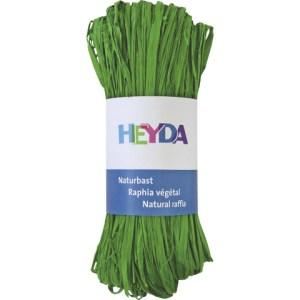 Raphia végétal - vert