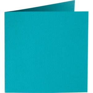 Papicolor carte double 140 x 140 - turquoise