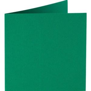 Papicolor carte double 140 x 140 - vert foncé