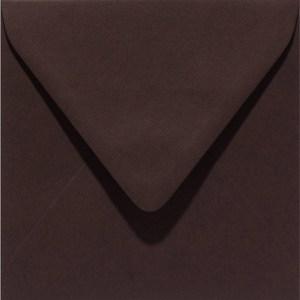 Papicolor enveloppe 140 x 140 - brun foncé