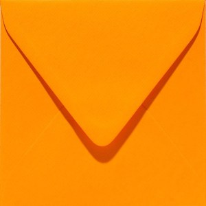 Papicolor enveloppe 140 x 140 - orange