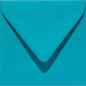 Papicolor enveloppe 140 x 140 - turquoise