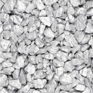Gravier décoratif 500 ml - argent