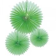 Crépon plat x 3 pièces - jade