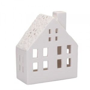 Maison large en porcelaine - blanc