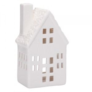 Maison haute en porcelaine - blanc