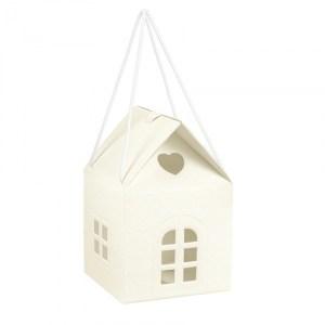 Maison moyen modèle - blanc