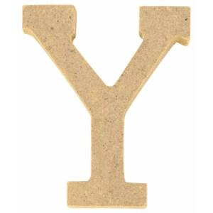 Lettre en bois 5 cm - Y