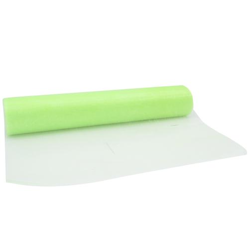 Chemin de table organza - vert