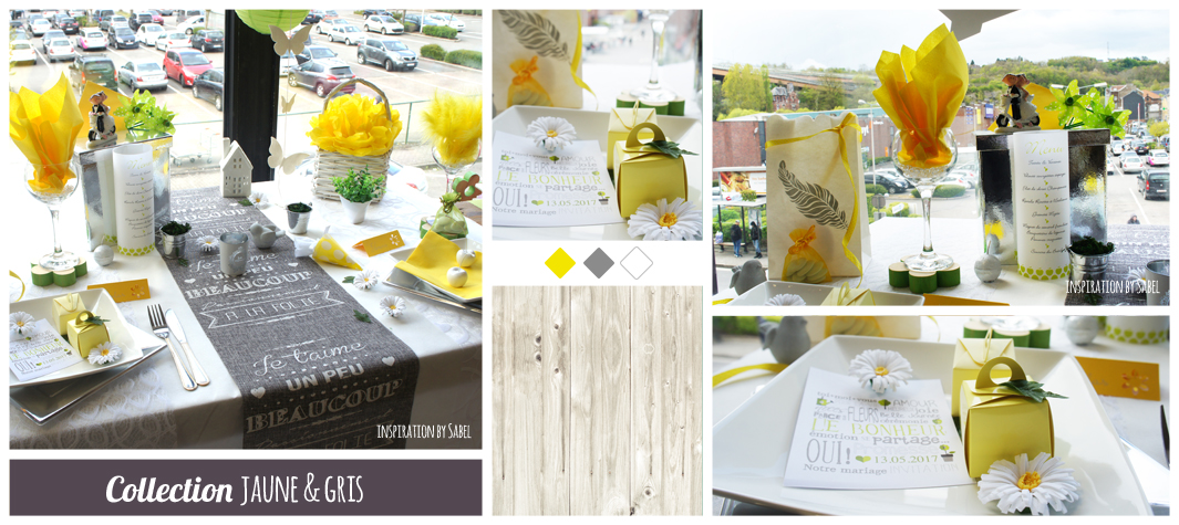 Collection Jaune et Gris