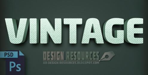 3d-vintage-text-effect