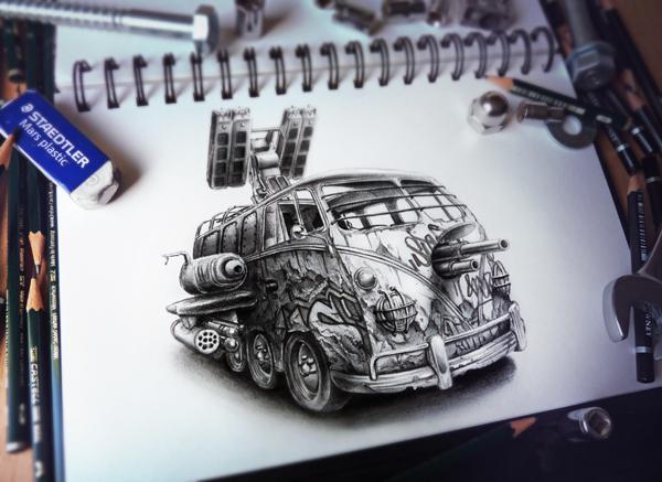 Sketchbook Art by Pez18
