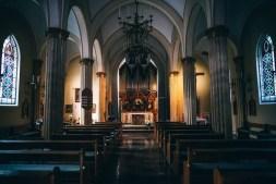 Moody Church Interior in Russia
