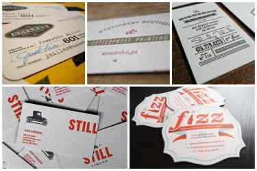 Vintage Business Card Design Inspiration Ideas