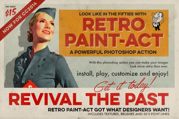 Retro Paint-Act
