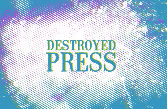 Destroyed Press Photoshop Brushes