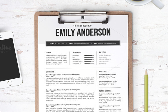 resume-template-the-emily
