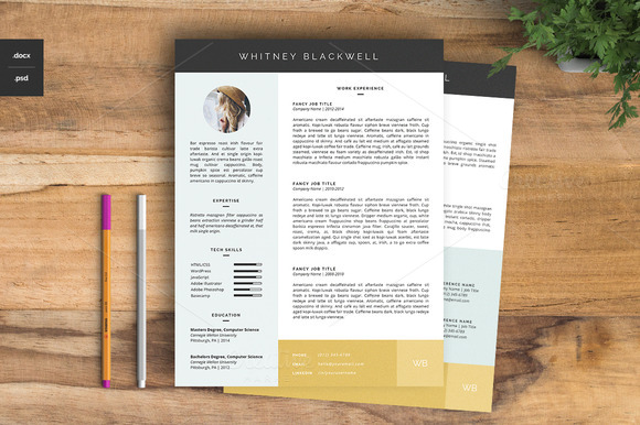 resume-template-the-whitney