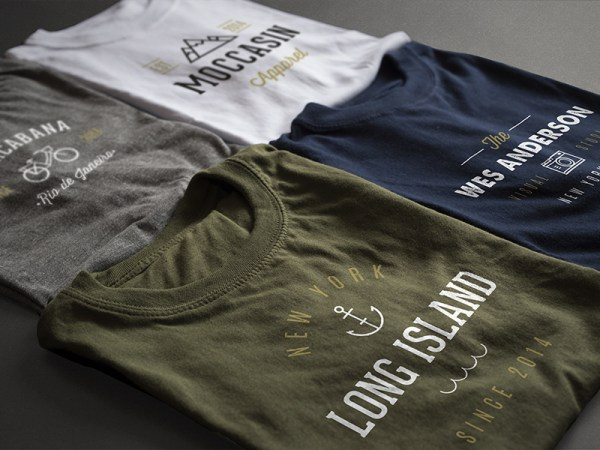 2 Photorealistic T-Shirt Mock-ups by PixelBuddha