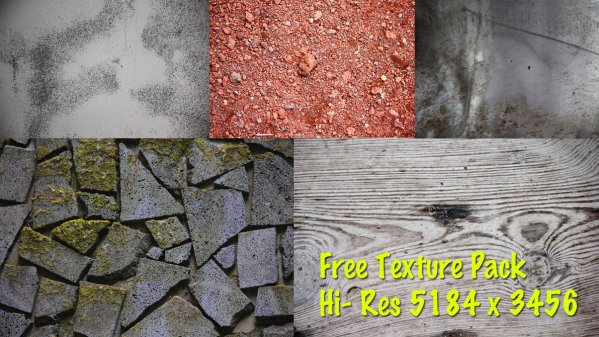 200+ Hi-Res and Royalty Free Textures