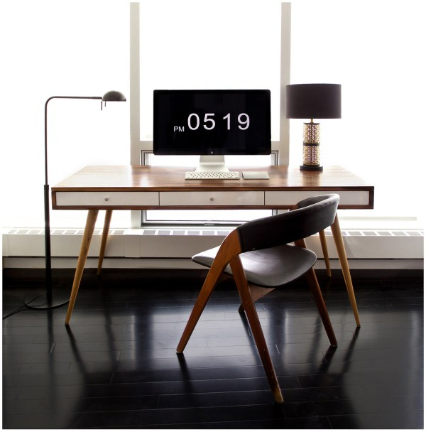 elegant minimal workspace.