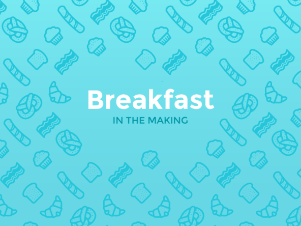 Breakfast Pattern Freebie by Strahinja Todorovic