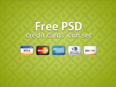 Credit Cards Icons by Kreativa Studio
