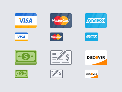 Payment Icons by Vitaliy Petrushenko