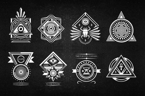 10 Secret Society Badges